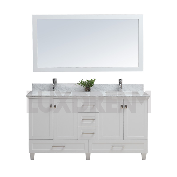 Cabinet White Bathroom Vanity